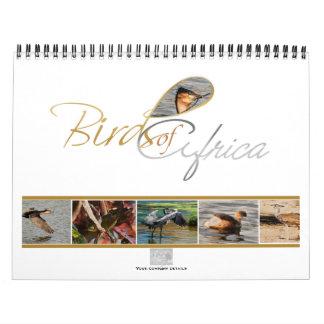 Birds of Africa calendar gifts - Standard