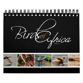 Birds of Africa gifts - Small Calendar