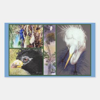 BIRDS of BRAZIL Fine Art Stickers