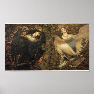 Birds of Joy and Sorrow Print