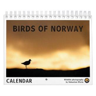 Birds of Norway 2022 Calendar