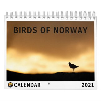 Birds of Norway Photo Calendar
