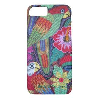 Birds of Panama iPhone 7 Case