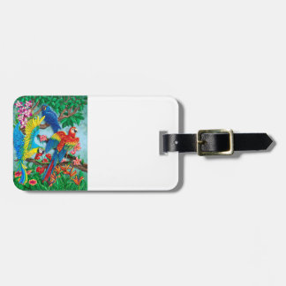 Birds of Paradise Bag Tags