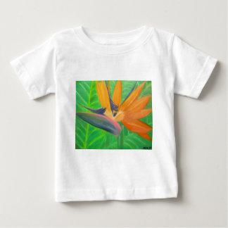 Birds of Paradise Flower Baby T-Shirt