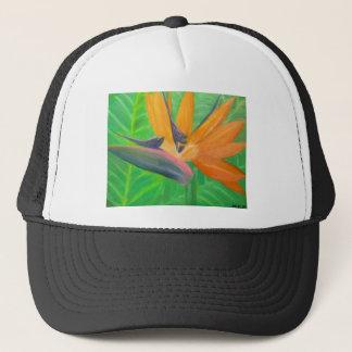 Birds of Paradise Flower Trucker Hat