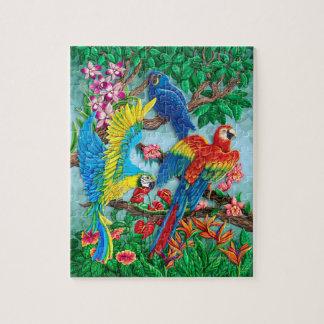 Birds of Paradise Jigsaw Puzzle