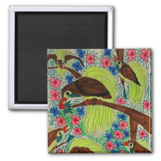 Birds of Paradise Magnet