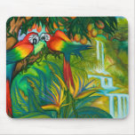 Birds of Paradise Mouse Pad