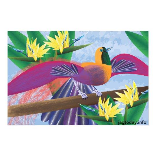 Birds of Paradise Photo Print