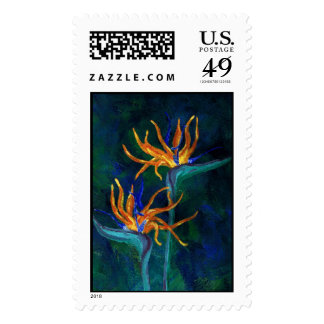 Birds of Paradise Stamp