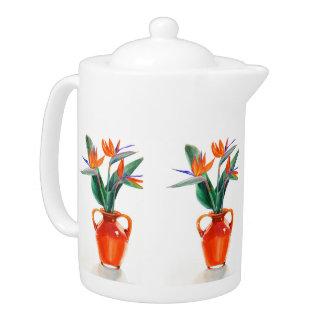 Birds of Paradise Teapot