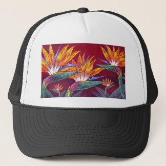 Birds Of Paradise Tropical Flower - Multi Trucker Hat