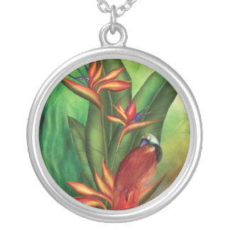 Birds Of Paradise Wearable Art Necklace