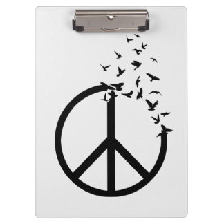 Birds of Peace Clipboard