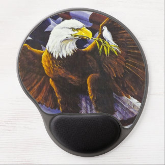 Birds of Peace Gel Mouse Pad