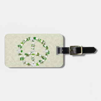 Birds Of Peace Travel Bag Tags