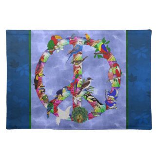 Birds Of Peace Cloth Placemat