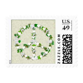 Birds Of Peace Postage
