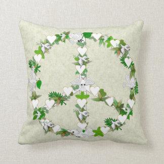 Birds Of Peace Throw Pillow