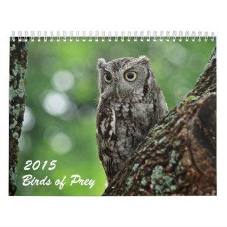 Birds of Prey 2015 photo calendar