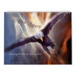 Birds Of Prey Art Calendar 2012