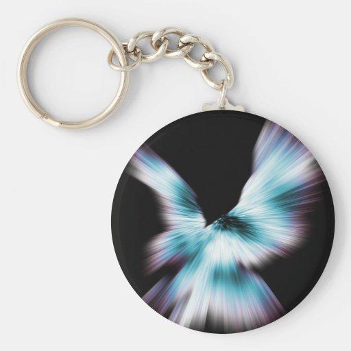 Birds of Prey Basic Round Button Keychain