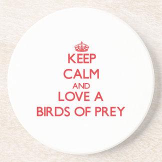 Birds Of Prey Beverage Coasters