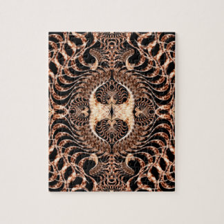 Birds of Prey Mandala Jigsaw Puzzle