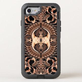 Birds of Prey Mandala OtterBox Defender iPhone 7 Case
