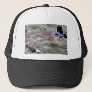 birds of prey trucker hat