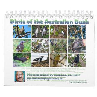 Birds of the Australian Bush Calendar