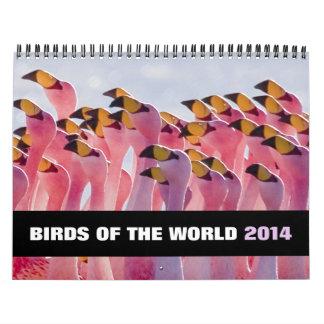 Birds of the World 2014 Calendar