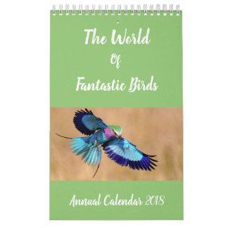 Birds of the World Annual Calendar | Bird Gifts