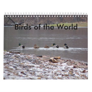 Birds of the World Calendar