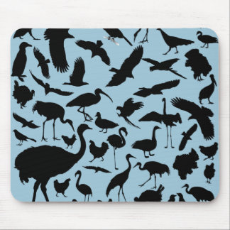 Birds of the World Mouse Pad