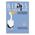 Birds of the World vintage WPA cover art