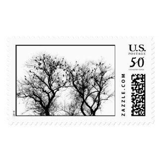 Birds of Winter Postage