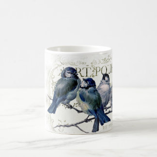 Birds on a branch coffee mug