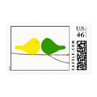 Birds on a Branch Postage