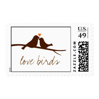 Birds on a Branch Stamp