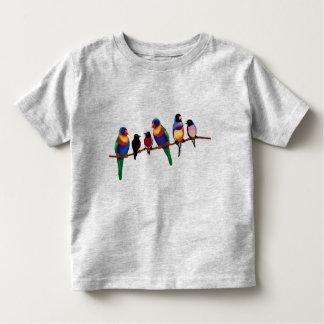 Birds on a branch tee shirt