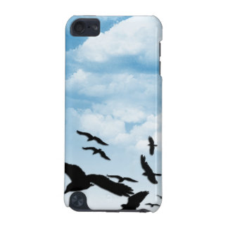 Birds on a Cloudy Day Ipod Case