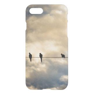 Birds on a Line iPhone 7 Case