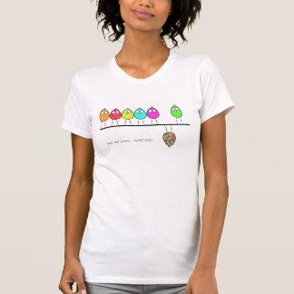 Birds on a line T-shirt