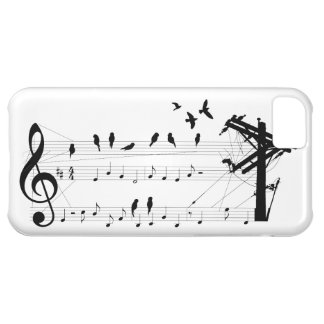 Birds on a Score iPhone 5C Covers