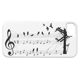 Birds on a Score iPhone SE/5/5s Case
