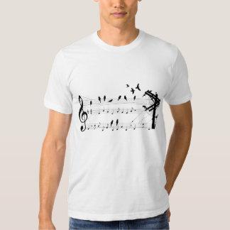 Birds on a Score T-shirt