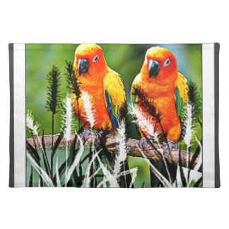 Birds On a Stick Placemats