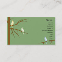 Birds on a Tree - Business Business Card